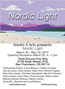 Nordic 5 Arts Nordic Light At Think Round Fine Arts
